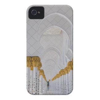Carcasa Para iPhone 4 De Case-Mate Columnas de jeque Zayed Grand Mosque, Abu Dhabi