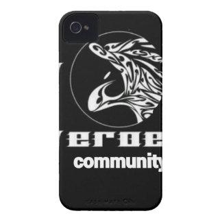 Carcasa Para iPhone 4 De Case-Mate Comunidad de los héroes