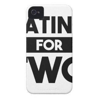 Carcasa Para iPhone 4 De Case-Mate Consumición para dos