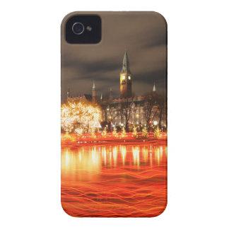 Carcasa Para iPhone 4 De Case-Mate Copenhague, Dinamarca en el navidad