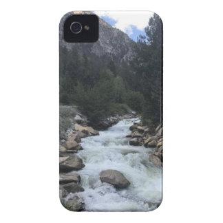 Carcasa Para iPhone 4 De Case-Mate Corriente de la montaña rocosa