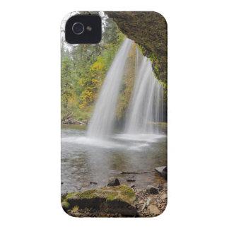 Carcasa Para iPhone 4 De Case-Mate Debajo de mota superior la cala cae en otoño