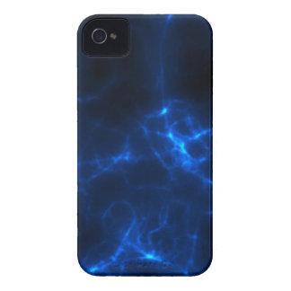Carcasa Para iPhone 4 De Case-Mate Descarga eléctrica en azul marino