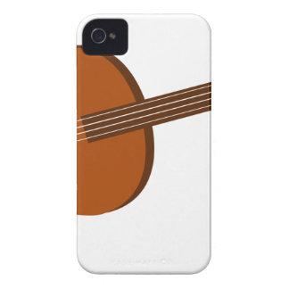 Carcasa Para iPhone 4 De Case-Mate Dibujo del Ukulele