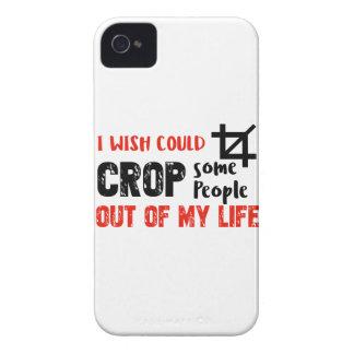 Carcasa Para iPhone 4 De Case-Mate Diseños divertidos del friki de la gente de la