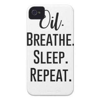 Carcasa Para iPhone 4 De Case-Mate el aceite respira la repetición del sueño -