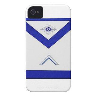 Carcasa Para iPhone 4 De Case-Mate El delantal del amo del Freemason