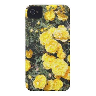 Carcasa Para iPhone 4 De Case-Mate El rosa amarillo soleado florece el autobús