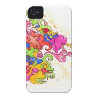 Carcasa Para iPhone 4 De Case-Mate El unicornio Fart