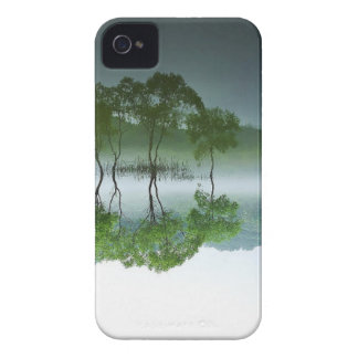 Carcasa Para iPhone 4 De Case-Mate elementos asiáticos de la naturaleza del daechung