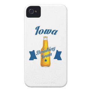 Carcasa Para iPhone 4 De Case-Mate Equipo de consumición de Iowa