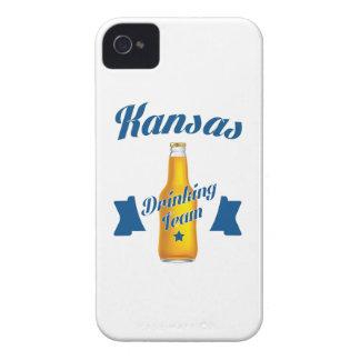 Carcasa Para iPhone 4 De Case-Mate Equipo de consumición de Kansas