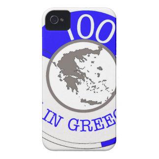 CARCASA PARA iPhone 4 DE Case-Mate ESCUDO 100% DE GRECIA