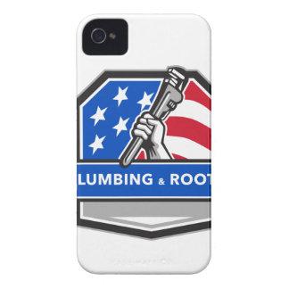 Carcasa Para iPhone 4 De Case-Mate Escudo de la bandera de los E.E.U.U. de la llave