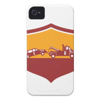 Carcasa Para iPhone 4 De Case-Mate Escudo del coche de remolque de la grúa retro