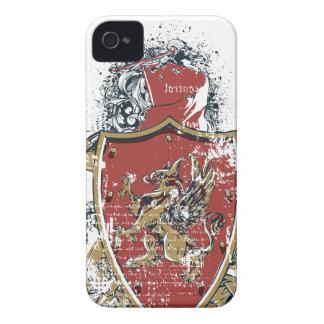 Carcasa Para iPhone 4 De Case-Mate espadas y diseño rojo