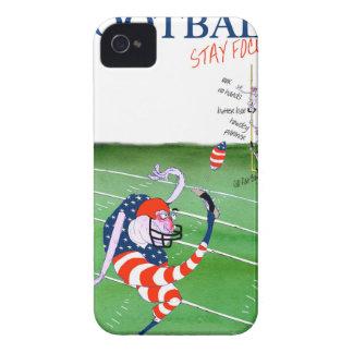 Carcasa Para iPhone 4 De Case-Mate Estancia enfocada, fernandes tony del fútbol