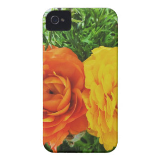 Carcasa Para iPhone 4 De Case-Mate Flor doble del problema