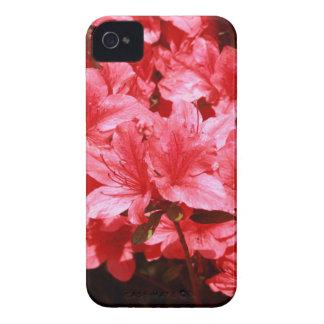 Carcasa Para iPhone 4 De Case-Mate flores del rojo de la azalea