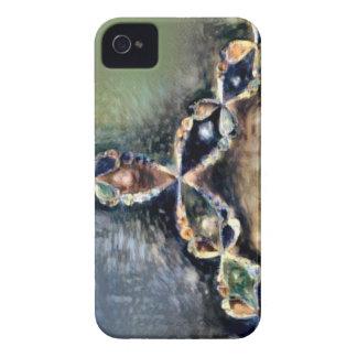 Carcasa Para iPhone 4 De Case-Mate Fractal del método de Renoir Newton