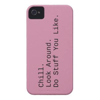 Carcasa Para iPhone 4 De Case-Mate Frialdad. Mire alrededor