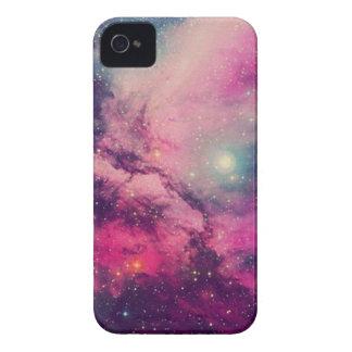 Carcasa Para iPhone 4 De Case-Mate Galaxia púrpura de la posluminiscencia