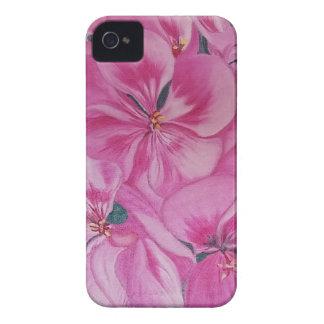 Carcasa Para iPhone 4 De Case-Mate Geranio