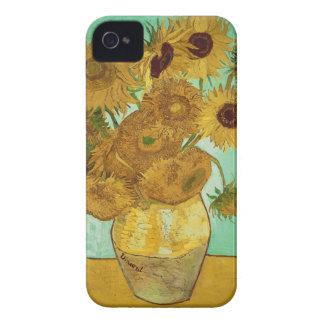 Carcasa Para iPhone 4 De Case-Mate Girasoles de Vincent van Gogh el  , 1888