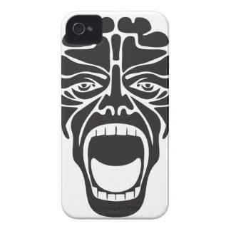 Carcasa Para iPhone 4 De Case-Mate grito aterrorizante