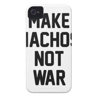 Carcasa Para iPhone 4 De Case-Mate Haga la guerra de los Nachos no