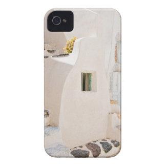 Carcasa Para iPhone 4 De Case-Mate Hogar en Santorini