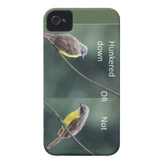 Carcasa Para iPhone 4 De Case-Mate hunkered abajo o no el pájaro