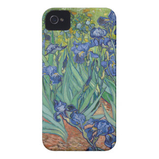 Carcasa Para iPhone 4 De Case-Mate Iris de Vincent van Gogh que pintan el trabajo de