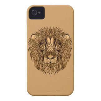 Carcasa Para iPhone 4 De Case-Mate La cabeza del león