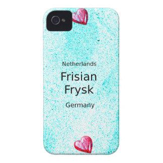 Carcasa Para iPhone 4 De Case-Mate Lengua del Frisian (Alemania y Países Bajos)