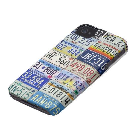 CARCASA PARA iPhone 4 DE Case-Mate LICENSE PLATES