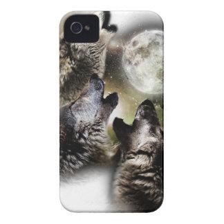 Carcasa Para iPhone 4 De Case-Mate Luna de los lobos del grito