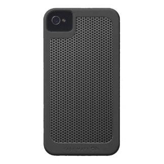 Carcasa Para iPhone 4 De Case-Mate Malla metálica cepillada con anillo