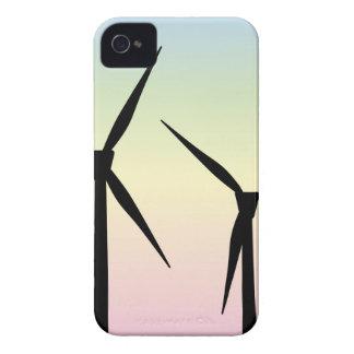 Carcasa Para iPhone 4 De Case-Mate Mañana del parque eólico