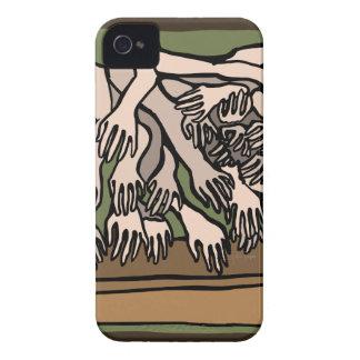 Carcasa Para iPhone 4 De Case-Mate Manos del maniquí