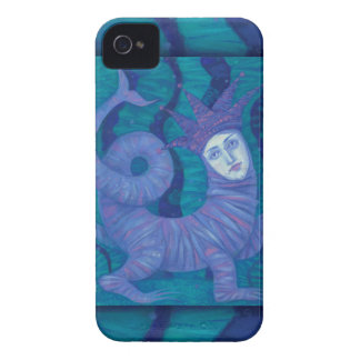 Carcasa Para iPhone 4 De Case-Mate Melusine, Melusina, fantasía, surrealista, alcohol