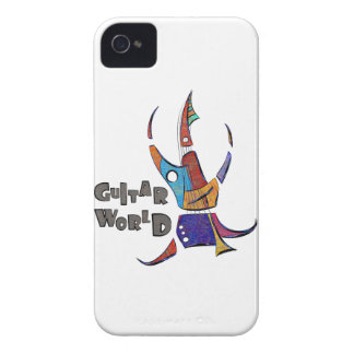 Carcasa Para iPhone 4 De Case-Mate Menossium - mundo de la guitarra