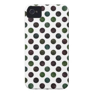 Carcasa Para iPhone 4 De Case-Mate Modelo de puntos precioso XIII