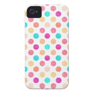 Carcasa Para iPhone 4 De Case-Mate Modelo de puntos precioso XVI