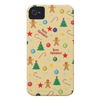 Carcasa Para iPhone 4 De Case-Mate Modelo del navidad