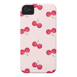 Carcasa Para iPhone 4 De Case-Mate Modelo único de las cerezas dulces