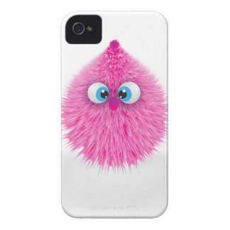 Carcasa Para iPhone 4 De Case-Mate Monstruo rosado mullido lindo