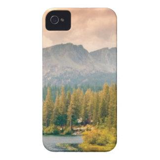 Carcasa Para iPhone 4 De Case-Mate montaña y corriente de los árboles