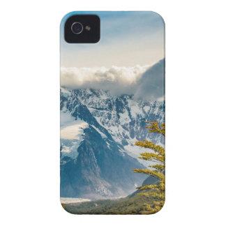 Carcasa Para iPhone 4 De Case-Mate Montañas Nevado los Andes, EL Chalten la Argentina