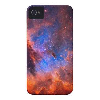 Carcasa Para iPhone 4 De Case-Mate Nebulosa galáctica abstracta con la nube cósmica -